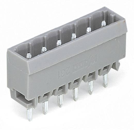 Male header (standaard) 300 Totaal aantal polen 12 WAGO 231-172/001-000 Rastermaat: 5 mm 100 stuks