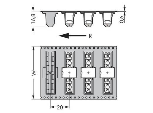 WAGO 231-138/001-000/105-604/997-40 Male header (standaard) 300 Totaal aantal polen 8 Rastermaat: 5 mm 170 stuks