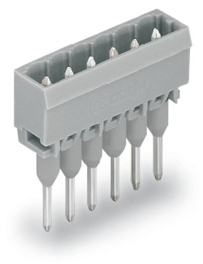Male header (standaard) 300 Totaal aantal polen 6 WAGO 231-166/003-000 Rastermaat: 5 mm 100 stuks