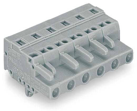 WAGO 231-205/008-000 Busbehuizing-kabel 231 Totaal aantal polen 5 Rastermaat: 7.50 mm 50 stuks