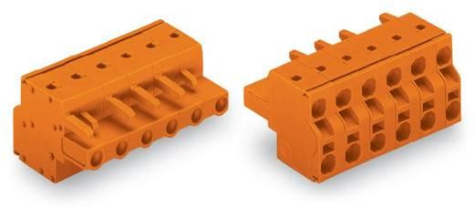 Busbehuizing-kabel 231 Totaal aantal polen 6 WAGO 231-2706/026-000 Rastermaat: 7.62 mm 50 stuks