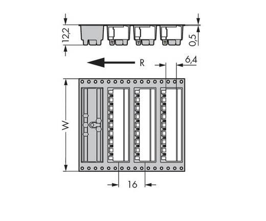 Male header (standaard) 300 Totaal aantal polen 9 WAGO 231-469/001-000/105-604/997-40 Rastermaat: 5 mm 330 stuks