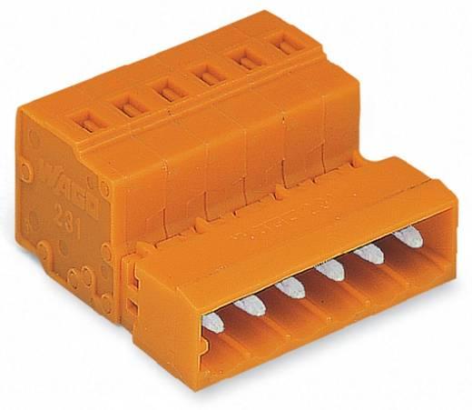 WAGO 231-640 Male header (standaard) 300 Totaal aantal polen 10 Rastermaat: 5.08 mm 50 stuks