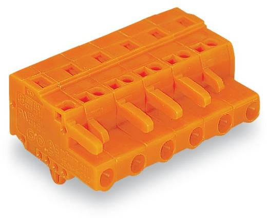 WAGO 231-703/008-000 Busbehuizing-kabel 231 Totaal aantal polen 3 Rastermaat: 7.62 mm 100 stuks