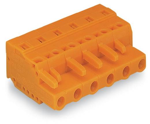 Busbehuizing-kabel 231 Totaal aantal polen 4 WAGO 231-704/026-000 Rastermaat: 7.62 mm 50 stuks