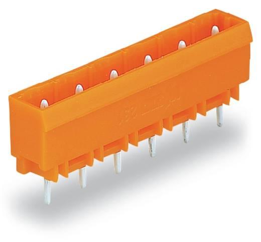 WAGO 231-736/001-000 Male header (standaard) 300 Totaal aantal polen 6 Rastermaat: 7.62 mm 100 stuks
