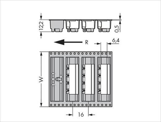 WAGO 231-836/001-000/105-604/997-40 Male header (standaard) 300 Totaal aantal polen 6 Rastermaat: 7.50 mm 330 stuks