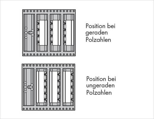 Male header (standaard) Totaal aantal polen 9 WAGO 231-839/