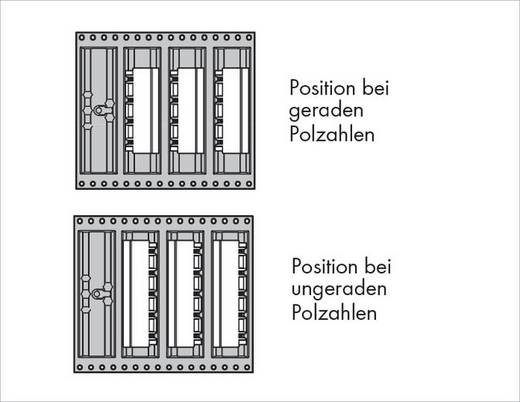 WAGO 231-838/001-000/105-604/997-40 Male header (standaard) 300 Totaal aantal polen 8 Rastermaat: 7.50 mm 330 stuks