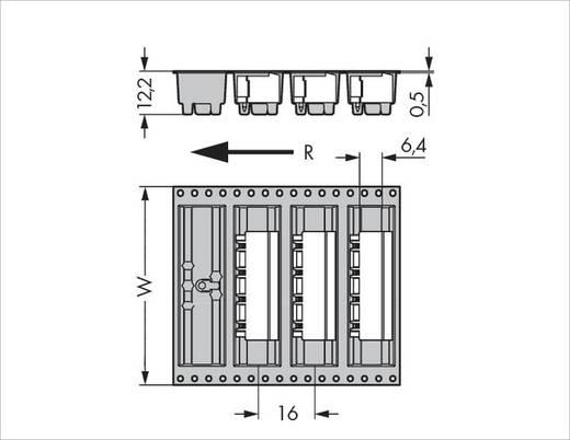 Male header (standaard) Totaal aantal polen 8 WAGO 231-868/