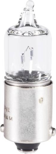 Barthelme Miniatuur- halogeenlamp 12 V 5 W 416 mA Fitting=BA9s Transparant Inhoud: 1 stuks