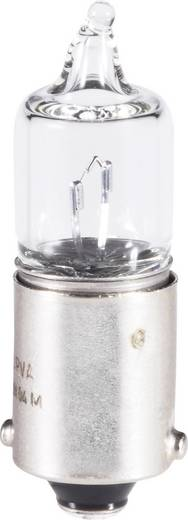 Barthelme Miniatuur-halogeenlampen C 12 V 20 W 1.66 A Fitting=BA9s Transparant Inhoud: 1 stuks