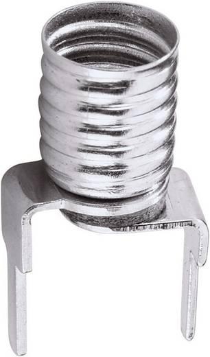 Lampfitting Dwergfitting met soldeerpennen voor gedrukte schakelingen