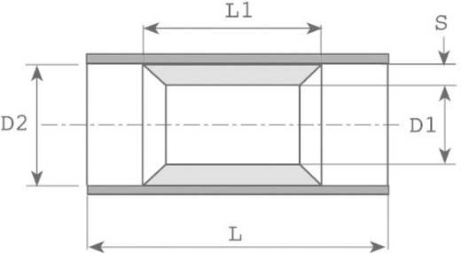 Doorverbinder 0.5 mm² 1 mm² Volledig geïsoleerd Rood Vogt Verbindungstechnik 3715P 1 stuks