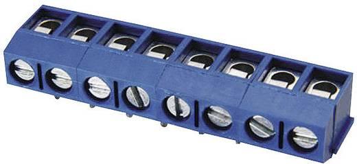 Klemschroefblok 1.50 mm² Aantal polen 2 DG301R-5.0-02P-12 Degson Blauw 1 stuks
