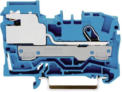 Scheidingsklem 7.50 mm Veerklem Toewijzing: N Blauw WAGO 2006-7114 1 stuks