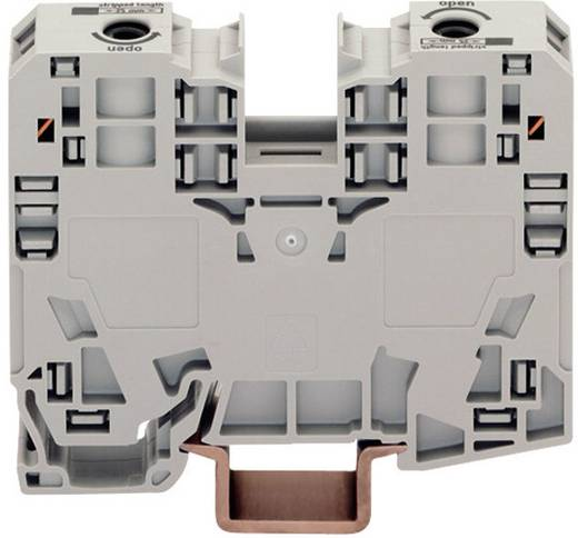 Doorgangsklem 16 mm Veerklem Toewijzing: L Grijs WAGO 285-135 1 stuks