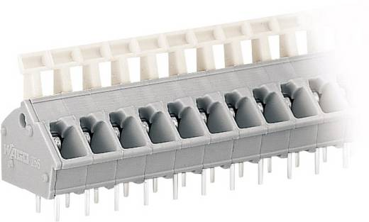 Veerkachtklemblok 2.50 mm² Aantal polen 2 256-402 WAGO Grijs 1 stuks