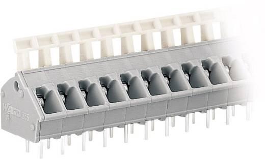 Veerkachtklemblok 2.50 mm² Aantal polen 3 WAGO Grijs 1 stuks