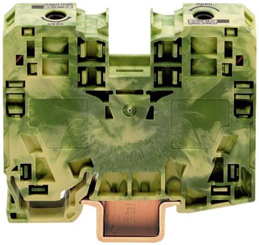 Aardingsklem 16 mm Veerklem Toewijzing: Terre Groen-geel WAGO 285-137 1 stuks