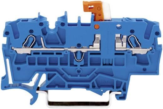 Scheidingsklem 5.20 mm Veerklem Toewijzing: N Blauw WAGO 2002-1674 1 stuks