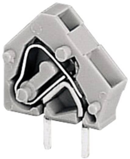 Veerkachtklemblok 2.50 mm² Aantal polen 1 236-401 WAGO Grijs 1 stuks