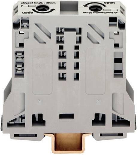 Doorgangsklem 20 mm Veerklem Toewijzing: L Grijs WAGO 285-150 1 stuks