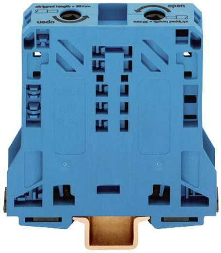 Doorgangsklem 20 mm Veerklem Toewijzing: N Blauw WAGO 285-154 1 stuks