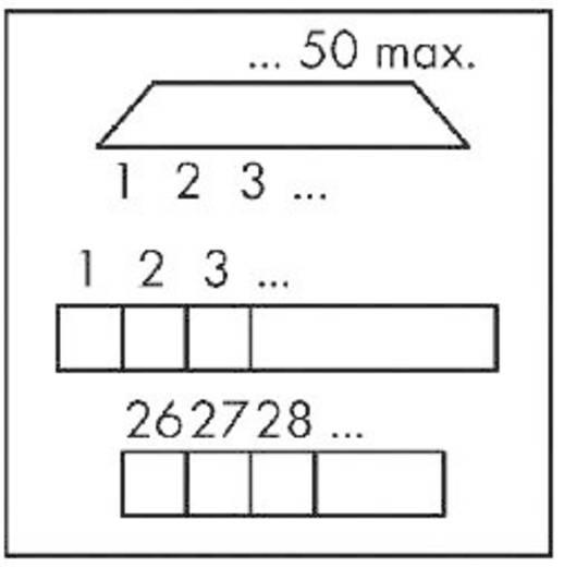 WAGO Sub-D overgeefbouwsteen 0.08 - 2.5 mm² Inhoud: 1 stuks