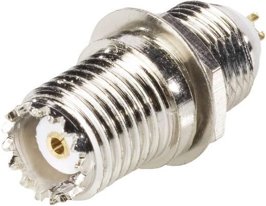 BKL Electronic 407008 Mini-UHF-connector Bus, inbouw verticaal 50 Ω 1 stuks