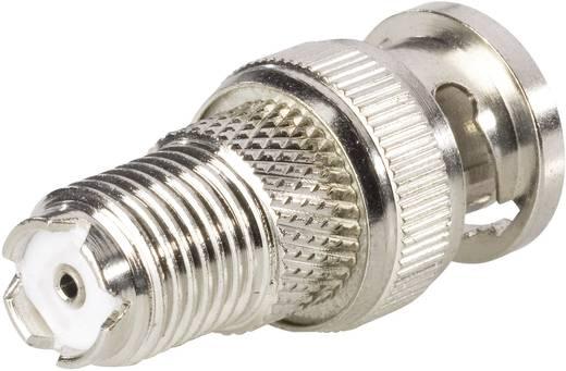 BKL Electronic 407015 BNC-stekker - Mini FM-adapter Mini-UHF-bus 1 stuks