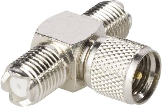 BKL Electronic 0407021 Mini-UHF-bus, Mini-UHF-bus - Mini FM-adapter Mini-UHF-stekker 1 stuks