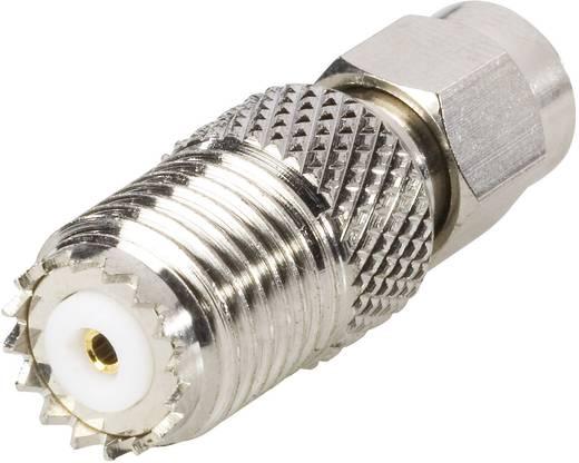 BKL Electronic 409035 SMA-stekker - Mini FM-adapter Mini-UHF-bus 1 stuks
