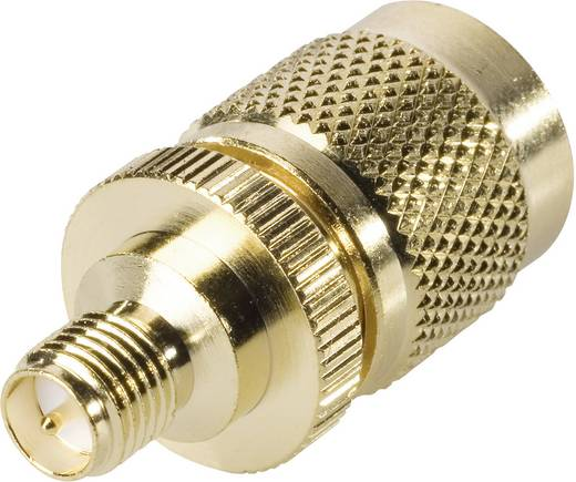 BKL Electronic 419414 TNC-reverse-stekker - SMA-reverse-adapter SMA-reverse-bus 1 stuks