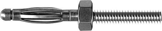 MultiContact SA200 Male connector Stekker, recht Stift-Ø: 2 mm Messing 1 stuks