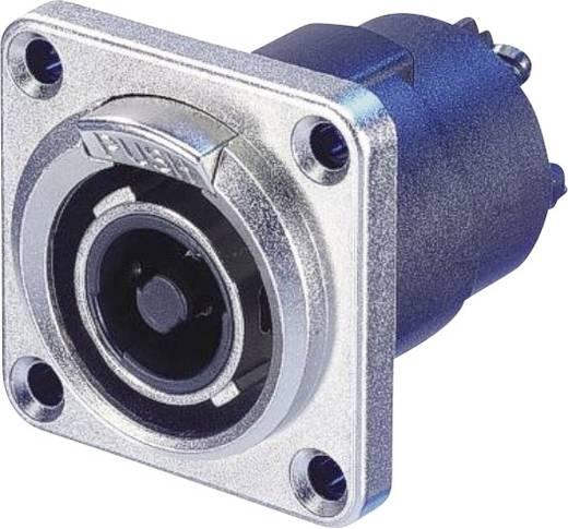 Neutrik NLT4FP Luidsprekerconnector Stekker, recht Aantal polen: 4 Zilver 1 stuks