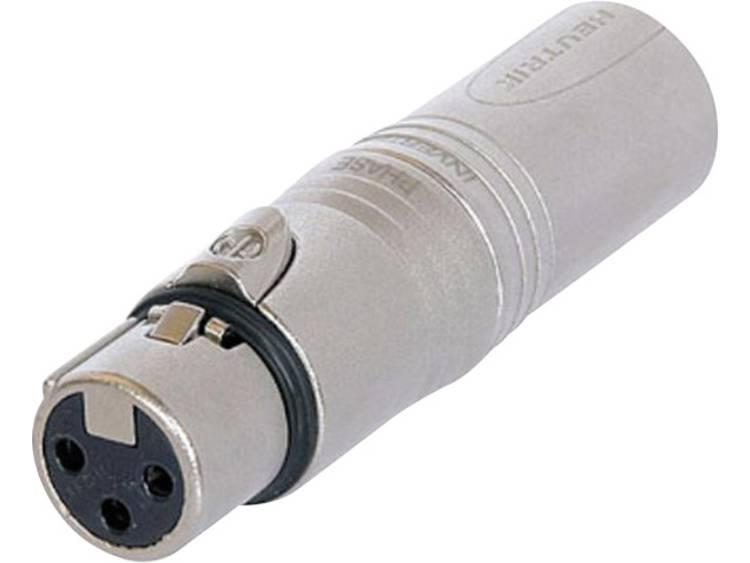 Neutrik NA3FM XLR-adapter XLR-bus XLR-stekker 1 stuks