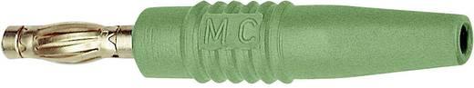 MultiContact SLS425-L Lamellenstekker Stekker, recht Stift-Ø: 4 mm Groen 1 stuks