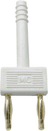 Stäubli KS2-10L Veiligheids-connector Wit Stift-Ø: 2 mm Penafstand: 10 mm 1 stuks