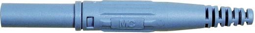 MultiContact XL-410 Laboratoriumstekker Stekker, recht Stift-Ø: 4 mm Blauw 1 stuks