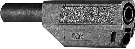 Stäubli SLS425-SE/Q/N Lamellenstekker Stekker, recht Stift-Ø: 4 mm Zwart 1 stuks