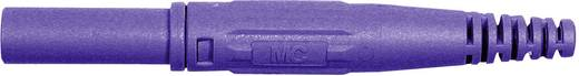 Stäubli XL-410 Laboratoriumstekker Stekker, recht Stift-Ø: 4 mm Violet 1 stuks