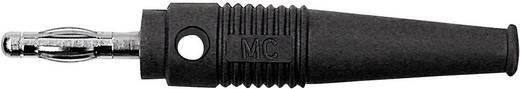 MultiContact L-41Q Lamellenstekker Stekker, recht Stift-Ø: 4 mm Zwart 1 stuks
