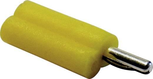 Schnepp F 2020 Pluimstekker Stekker, recht Stift-Ø: 2 mm Geel 1 stuks