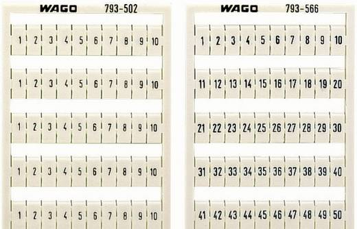 WAGO 793-3501 793-3501 WMB-markeringskaartjes 1 stuks