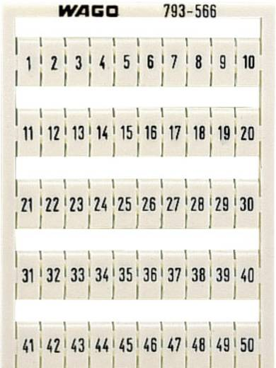 WAGO 793-5502 793-5502 WMB-markeringskaartjes 1 stuks