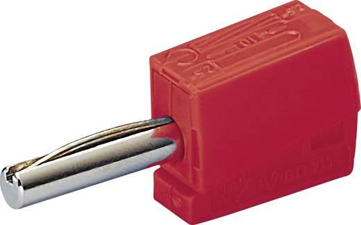 WAGO 215-212 Banaanstekker Stekker, recht Stift-Ø: 4 mm Rood 1 stuks
