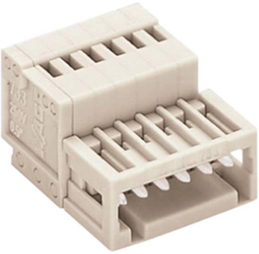 WAGO 733-205 Penbehuizing-kabel 733 Totaal aantal polen 5 Rastermaat: 2.50 mm 1 stuks