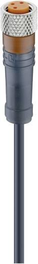 Lumberg Automation RKMV 4-225/5 M Schakelaarsensoraansluitkabel, M8-koppeling, recht Aantal polen: 4 Inhoud: 1 stuks