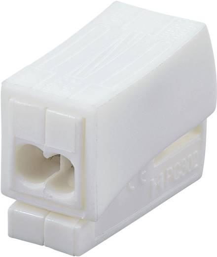 Lampklem Flexibel: 0.5-2.5 mm² Massief: 0.5-2.5 mm² Aantal polen: 3 1 stuks Wit